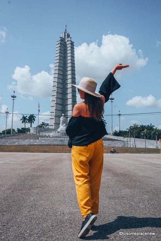 Jose Marti Statue Havana Itinerary