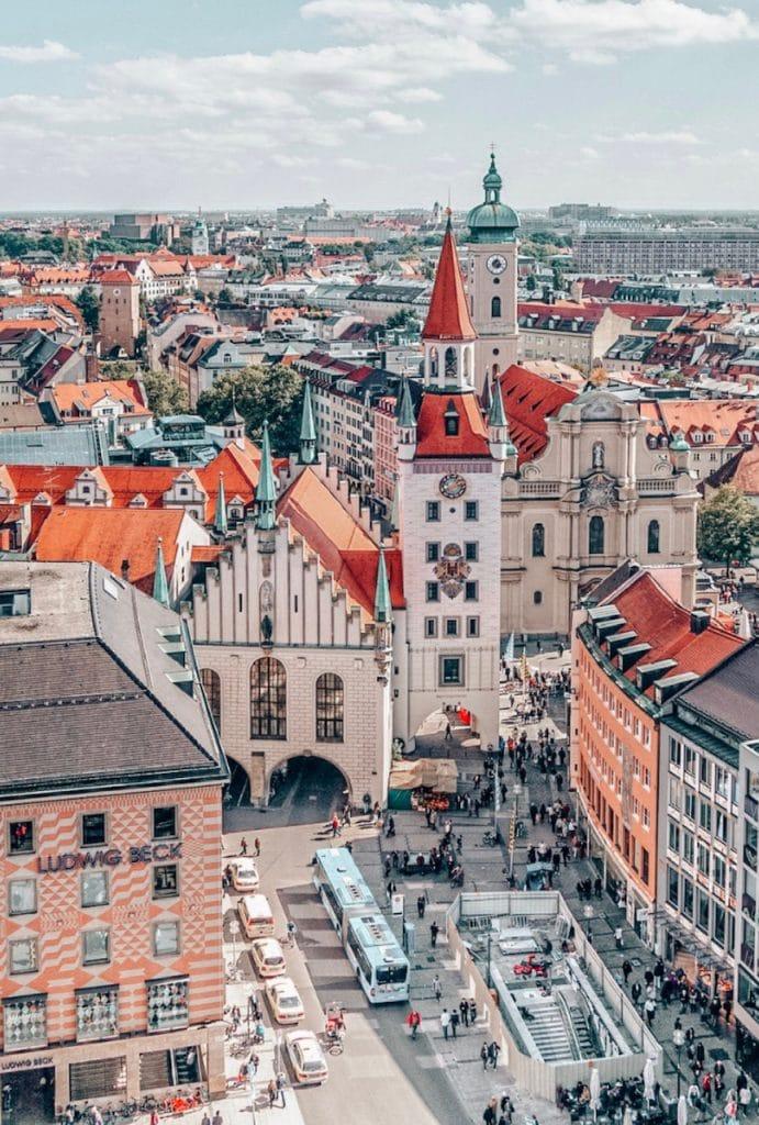 Marienplatz Munich Itinerary
