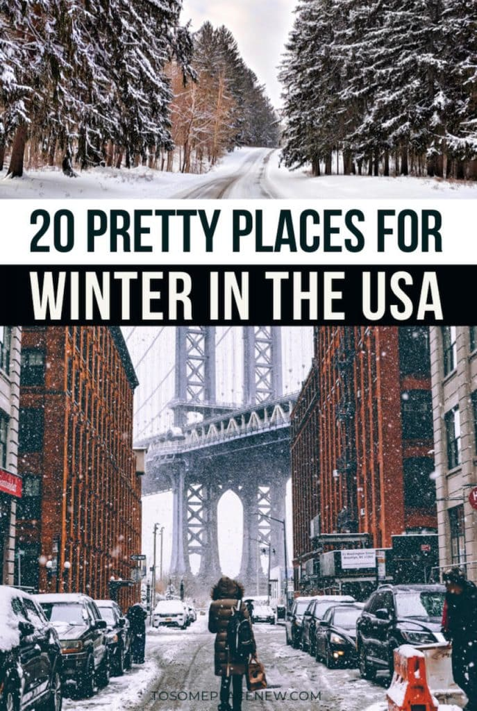 Winter in US ideas | Get the best winter destinations in USA bucketlist for every traveler - from snow and winter activities, beaches to city exploration | winter in nyc | winter in New York City | winter vacation ideas USA | winter vacation ideas warm | winter vacation United States | winter vacation ideas bucket lists | winter vacation ideas snow | winter vacation ideas California #winter #america #usa