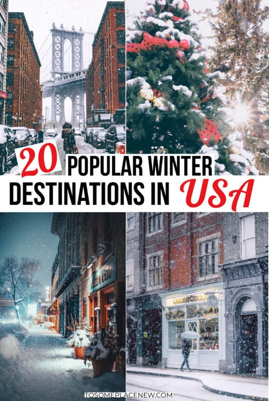 Winter Destinations in USA