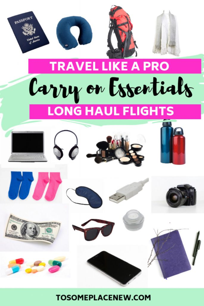 Essentials for long haul flights - All the carry on essentials for long flights, including checklists to travel easy and stay organised. This post contains all the essentials for long flights carry on bag like electronics, documents, cosmetics. Inspiration for long haul flight outfit and long haul flight essentials what to wear. Don't dread 20 hour long haul flight. With our experience, we have provided you will long haul flight tips and tricks for survival