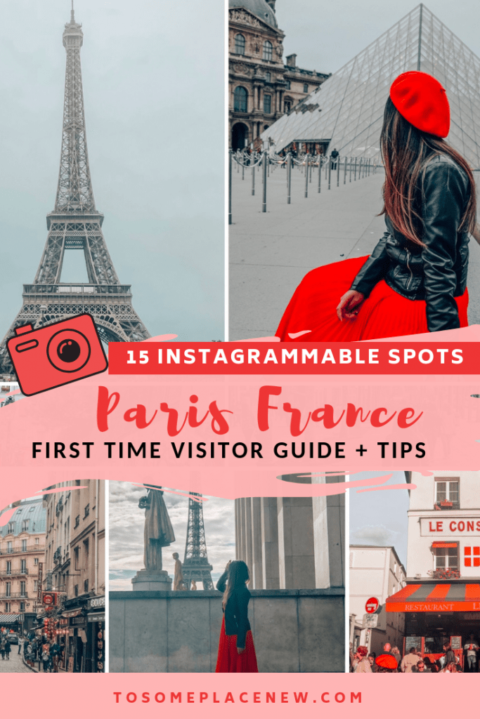 Best Paris photo spots for your Paris Vacation. This list is ideal for first time visitors and it include Paris city guides to help plan your dream Europe vacation. These Paris photography ideas cover the beautiful places like the Eiffel tower, the Lourve and other awesome things to do in Paris France to get the best Paris Instagram pictures to share. So here you go 15 Best Paris Instagram spots for the first time visitor.#parisphotospots  #paris #instagram