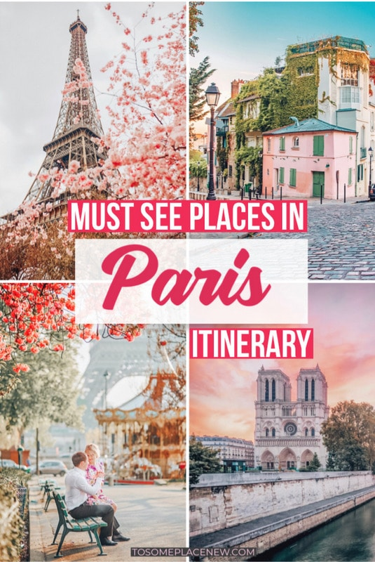 Perfect 4 days in Paris Itinerary