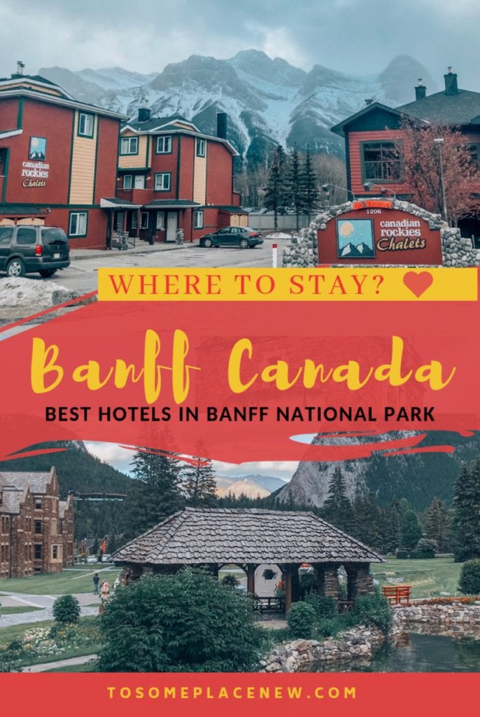 Where to stay in Banff Tips and guide - Where to stay in Banff | Best places to stay in Banff | Banff Alberta Canada accommodation | Banff Hotels tips and best hotels in Banff guide | Where to stay in Banff National Park | Canmore | Calgary | Cochrane | Lake Louise | Kananaskis county | Golden British Columbia #nationalparks #banffnationalpark #banff #wheretostay #canadatravel #canadaroadtrip