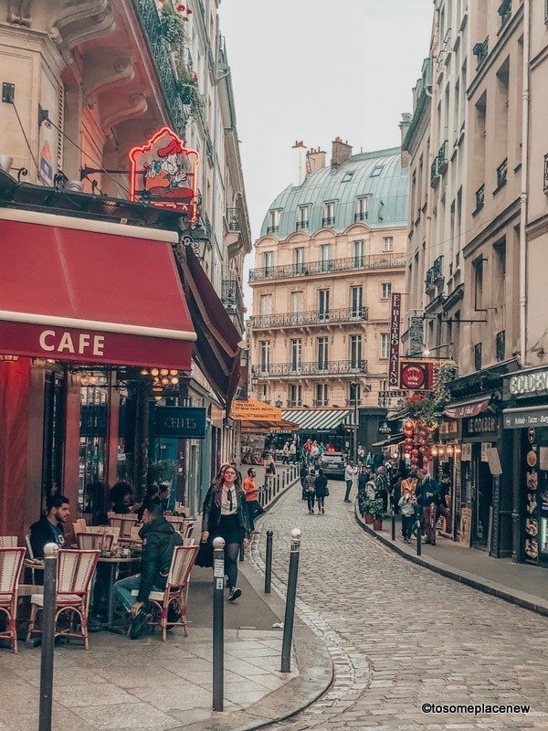Parisian lanes in 4 day Paris Itinerary