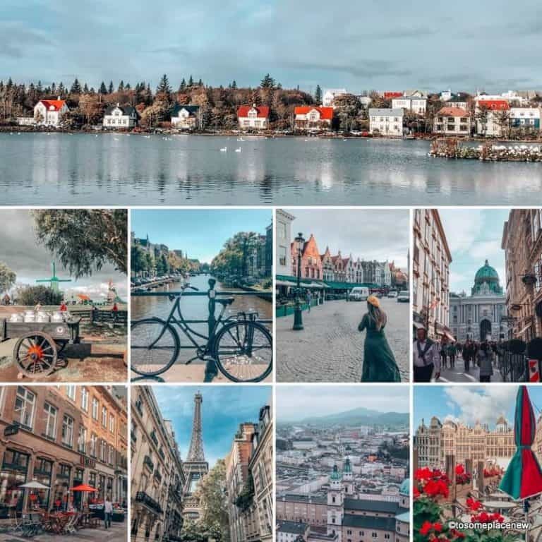 Planning a Trip to Europe Travel Checklist