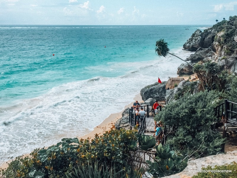 Beautiful Beach in Tulum Mexico - Enjoy your Mexico Vacation, with packing tips for Mexico