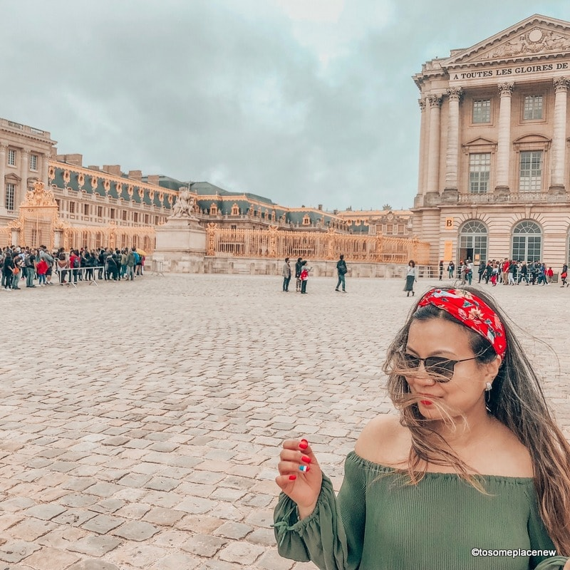 Palace of Versailles Perfect 4 day Paris Itinerary - Experience the best in sightseeing with things to do in 4 days in Paris, what to eat, where to stay and other travel tips #paris #parisitinerary
