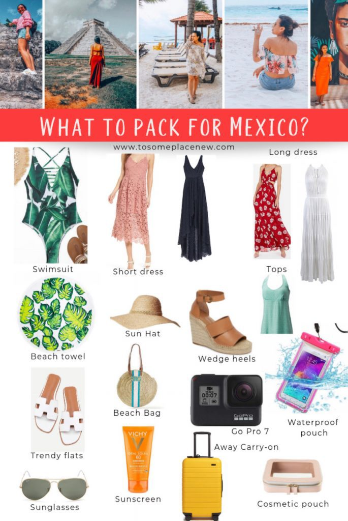 Ultimate Packing List for Mexico - What to pack for Mexico