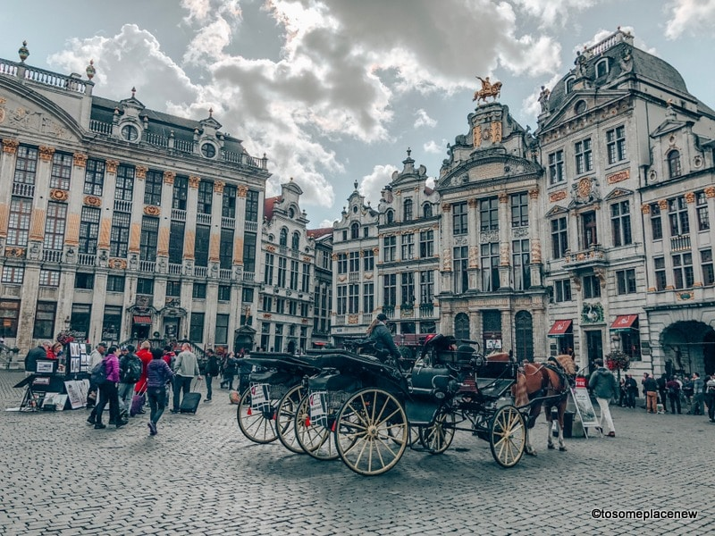 Horse Carriage Rides at the Grand Place