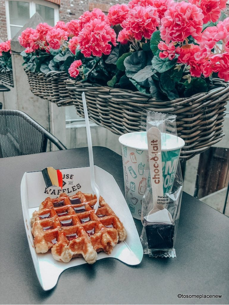 House of Waffles. Get ready to be mesmerized by gingerbread houses, medieval Markt Square, romantic canal tour, Belgian waffles and beer tour in one day in Bruges Itinerary.