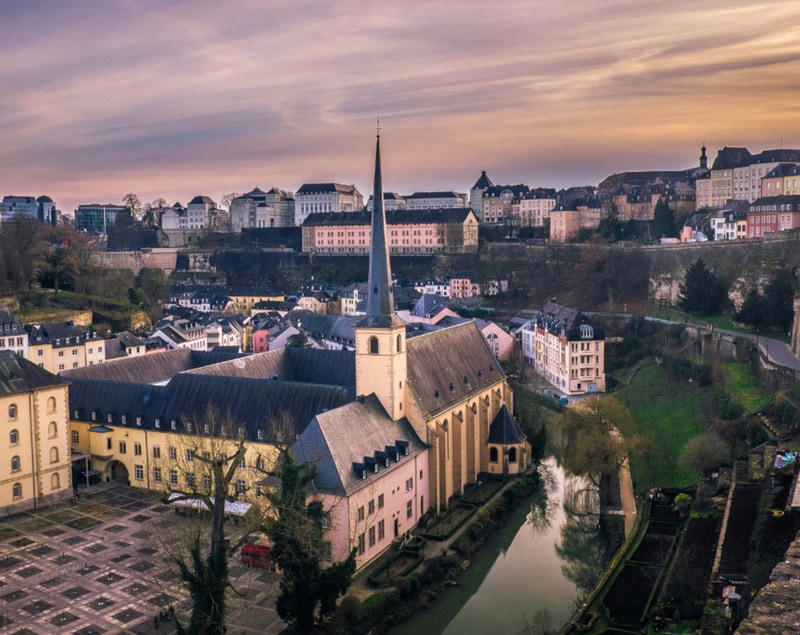 Castles in Luxembourg City - Find interesting facts about Luxembourg - one of the smallest European nations. And reasons why you should consider visiting the Grand Duchy of Luxembourg!
