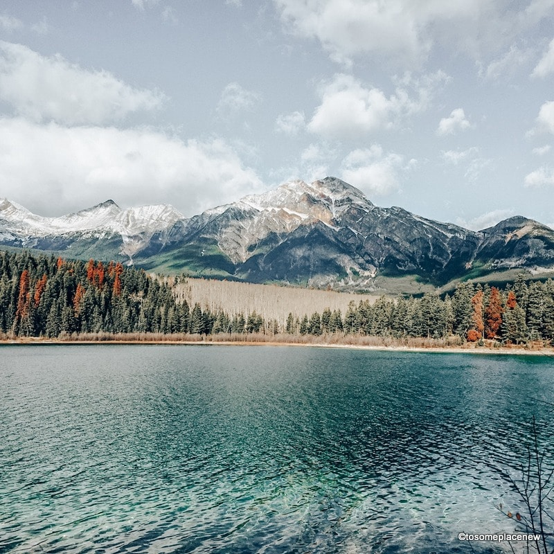 Pyramid Lake - Get the ultimate Edmonton to Jasper Itinerary and guide, with a comprehensive list of things to do in Jasper and places to visit in Jasper National Park.