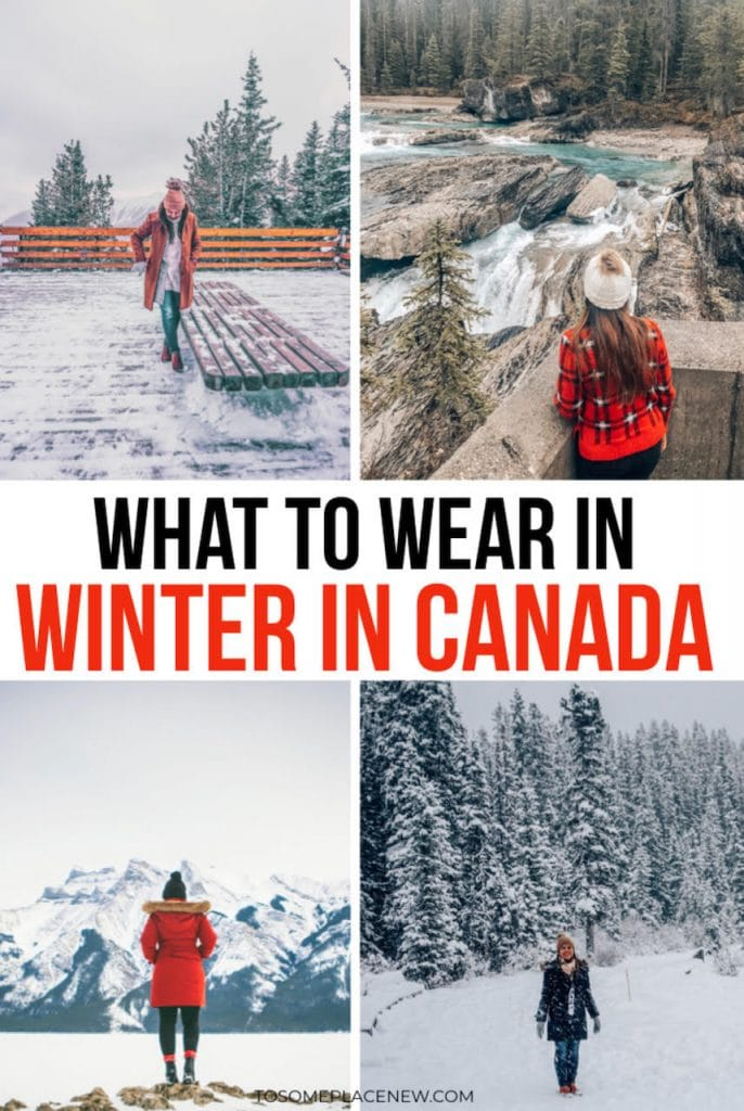 Winter Clothes Canada - What to pack for Canada in winter