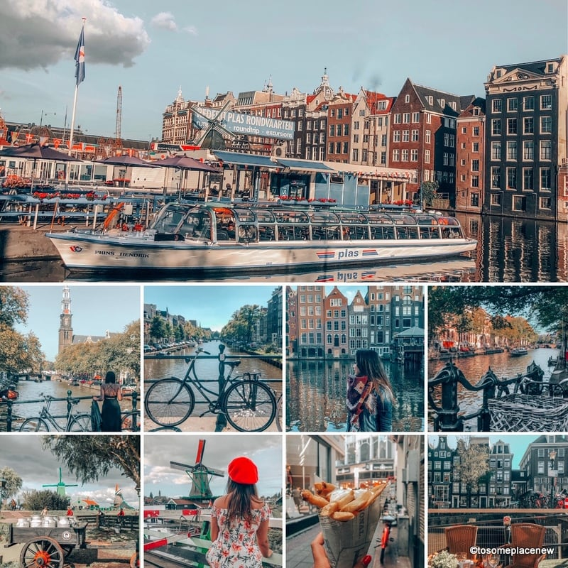 Glimpses of Amsterdam