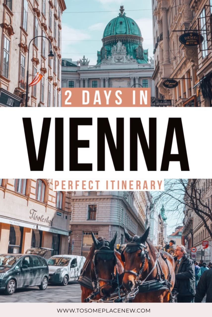 Vienna Austria Things to do in 2 days | Vienna Austria map with attractions for 48 hours | Vienna Austria Travel guide and tips for visiting Schonbrunn, Belvedere, St Stephens Church and more | Get this Vienna Austria Itinerary