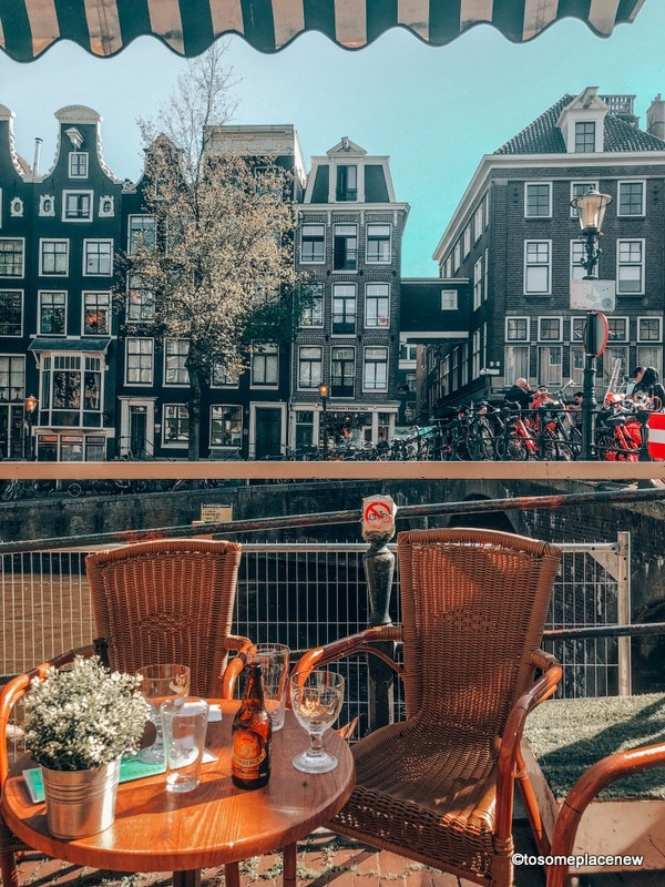 Amsterdam by the Canal