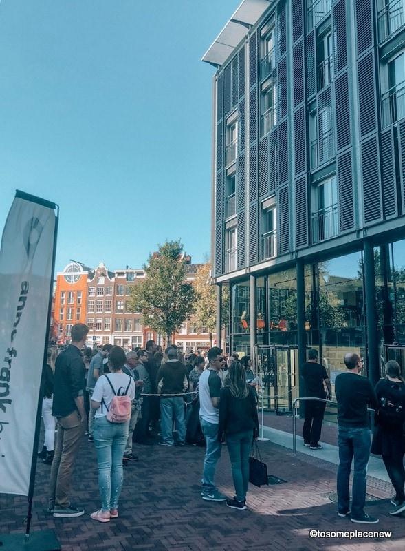 Anne Frank Museum Entrance