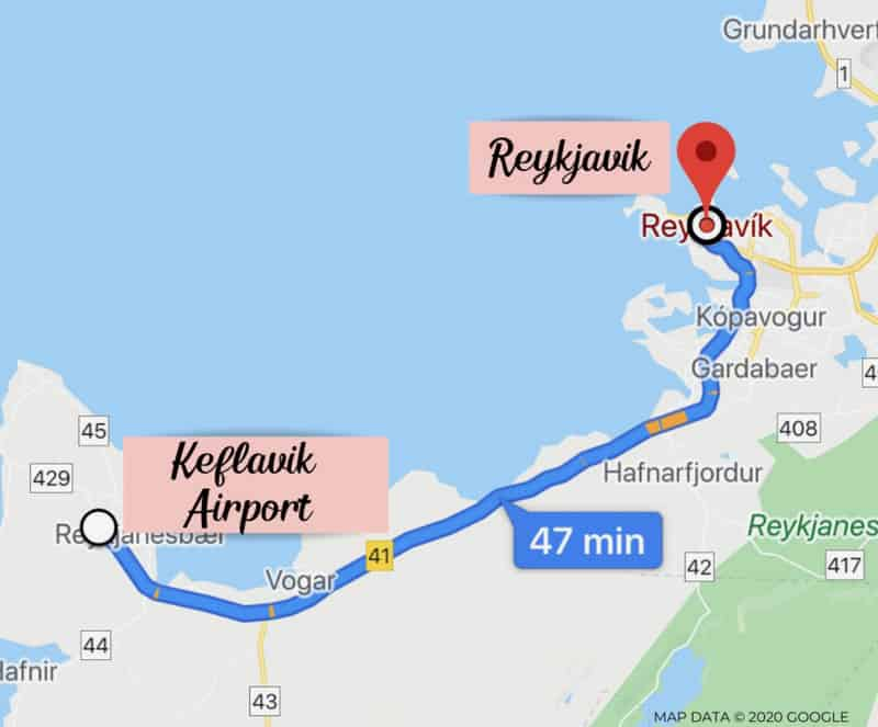 Day 1 Iceland Itinerary