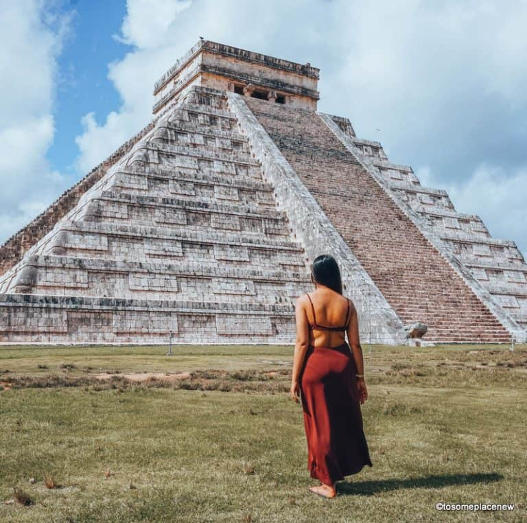 Exploring Chichen Itza tour from Playa del Carmen
