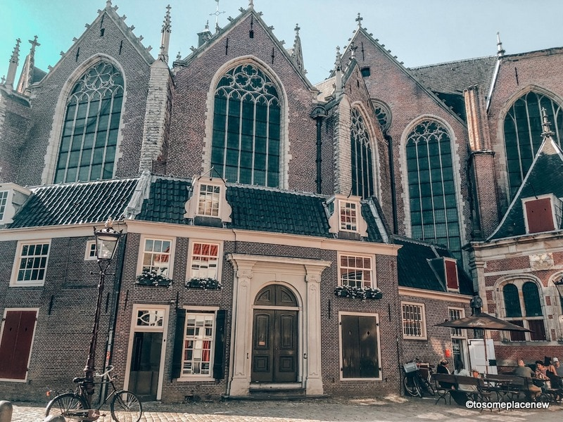 Amsterdam Itinerary Old Church in Red light district