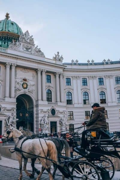 Hofburg Palace in one day in Vienna
