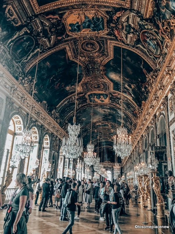 Hall of Mirrors Versailles Palace