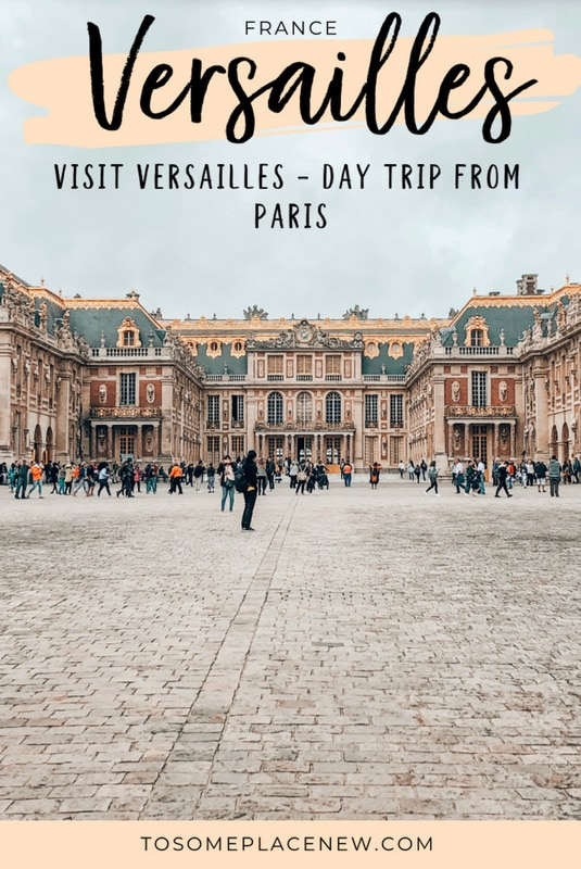 Getting to Versailles from Paris Day trip