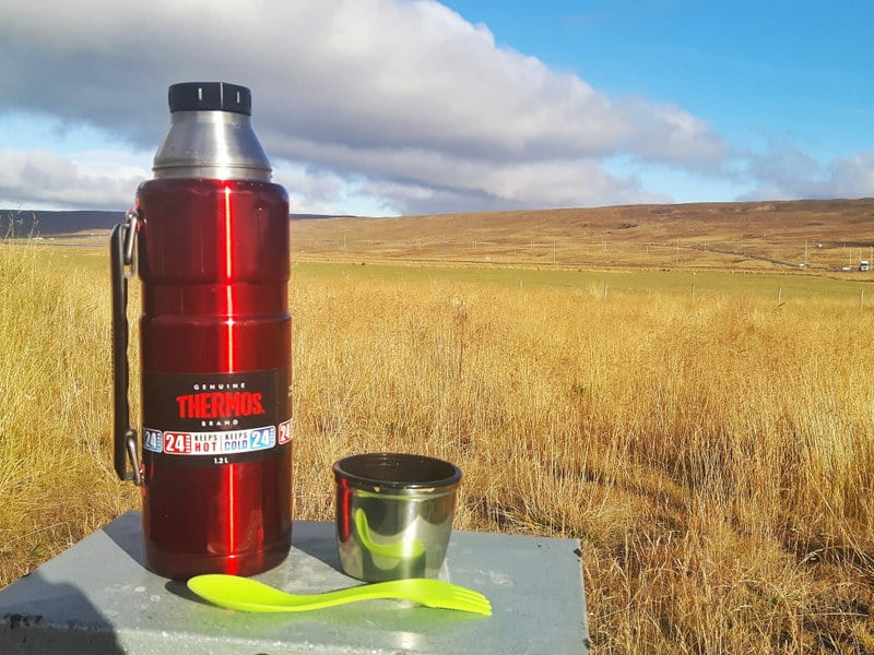 Thermos travel tip, Iceland