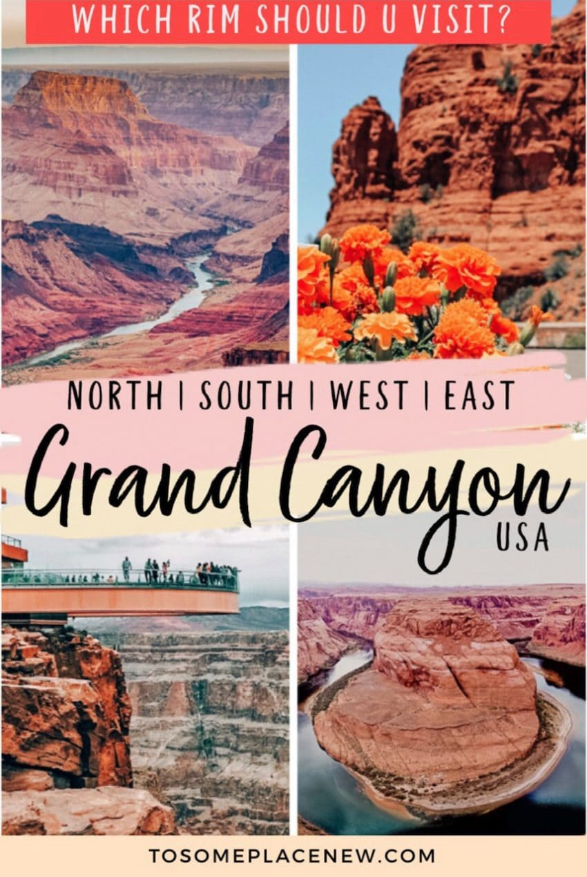 Grand Canyon North Rim or South Rim