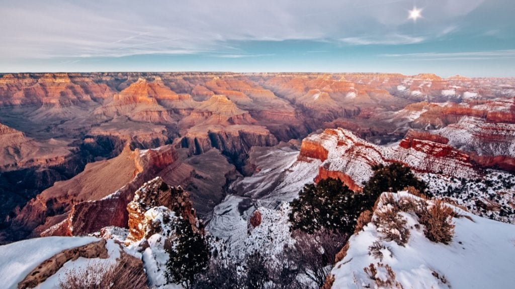 Grand Canyon winters
