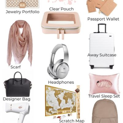 25 Unique Travel Gifts for women: Luxury Edition