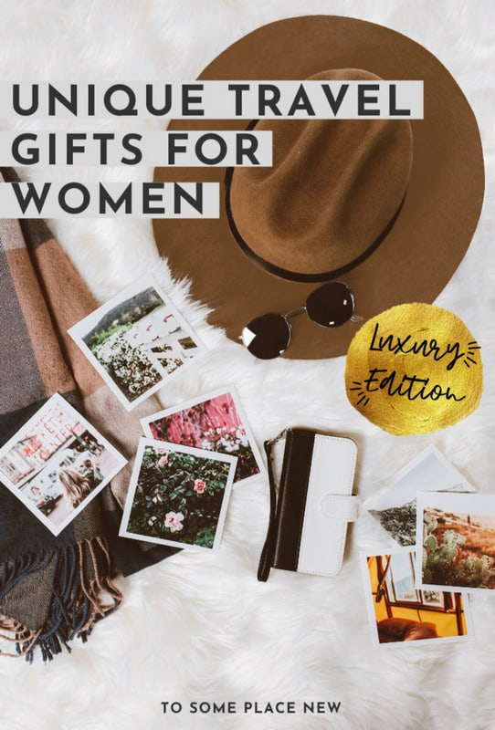 Unique Travel gifts for women