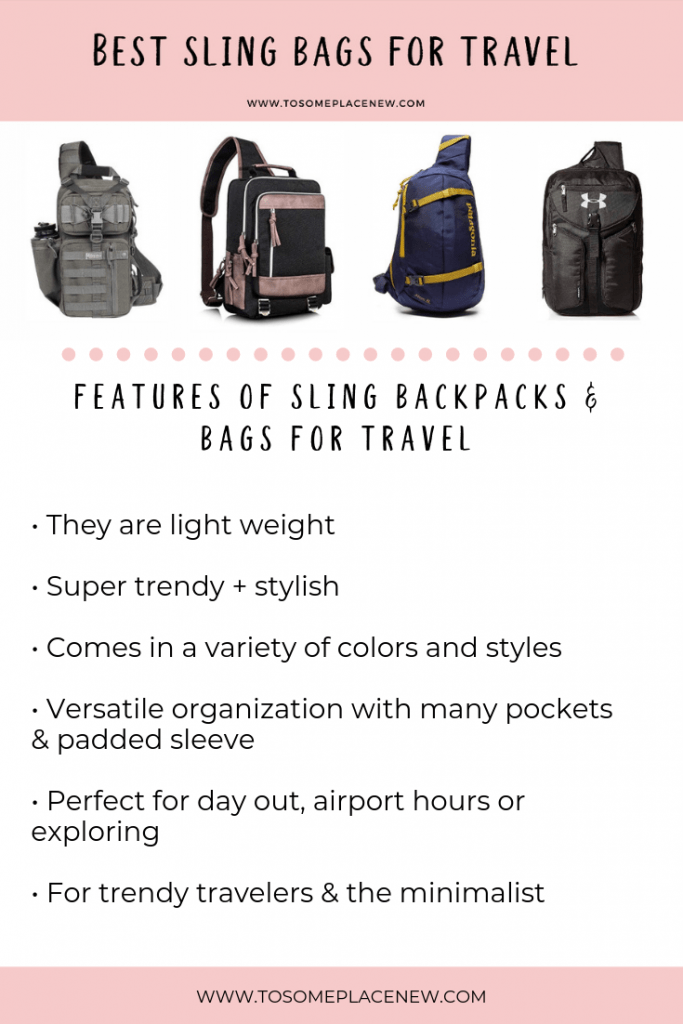 10 best sling bags for travel