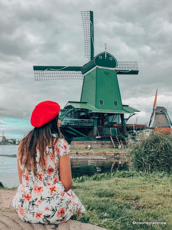 Zaanse Schans Day trip – Things to do in Zaanse Schans Windmills Village Amsterdam
