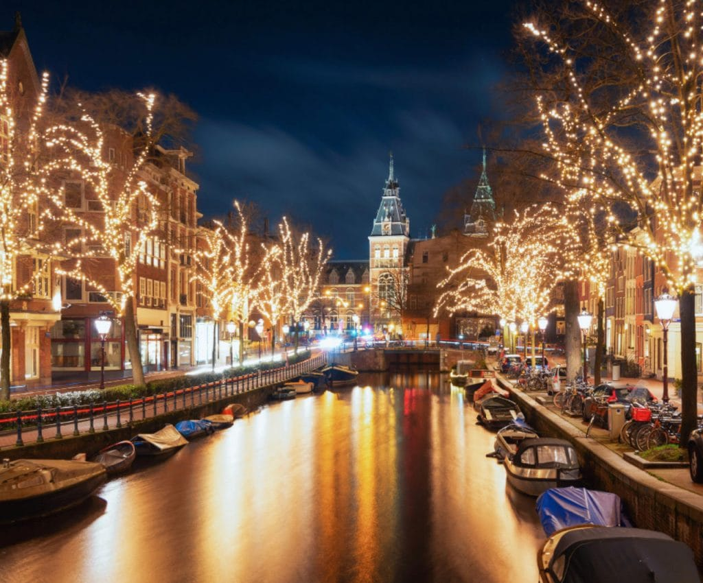 Amsterdam light festival - Best Winter Destinations in Europe