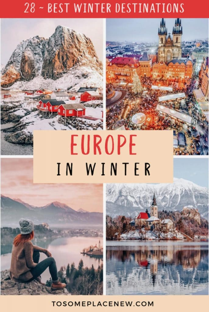 Planning to book that dreamy trip to Europe in winter - Read the BEST winter destinations in Europe for all traveler styles, activities & Christmas markets