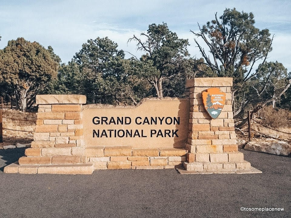 Entrance of Grand Canyon South