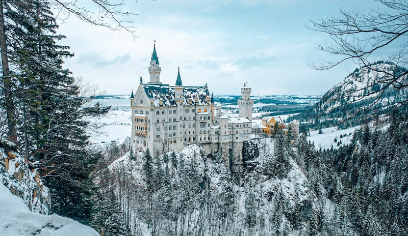 Neuschwanstein Castle Best Winter Destinations in Europe