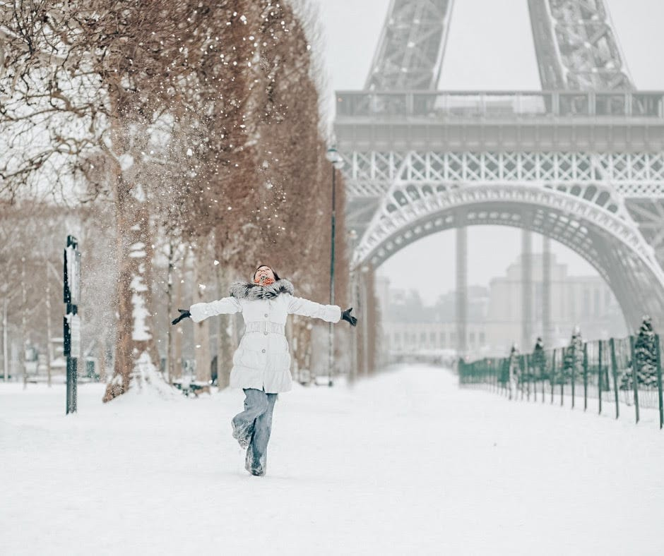 Paris - Best Winter Destinations in Europe