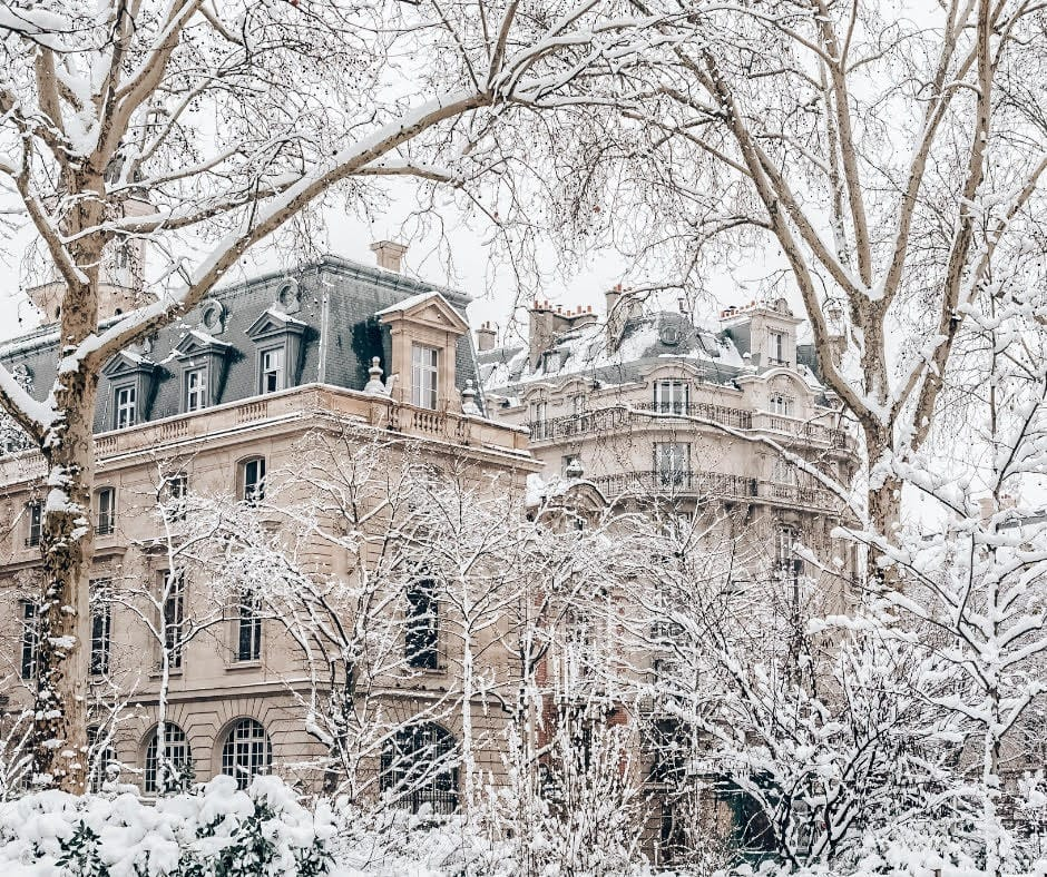 Parisian Winter - Best Winter Destinations in Europe