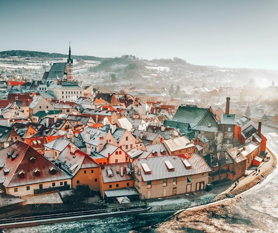 Prague Winter Morning - Best Winter Destinations in Europe
