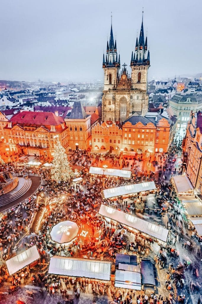 Prague's Christmas Markets - Best Winter Destinations in Europe