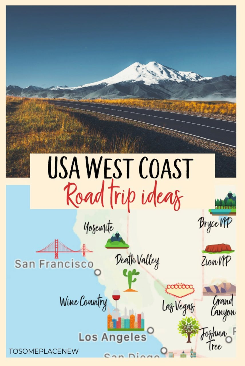 West Coast USA Road Trip