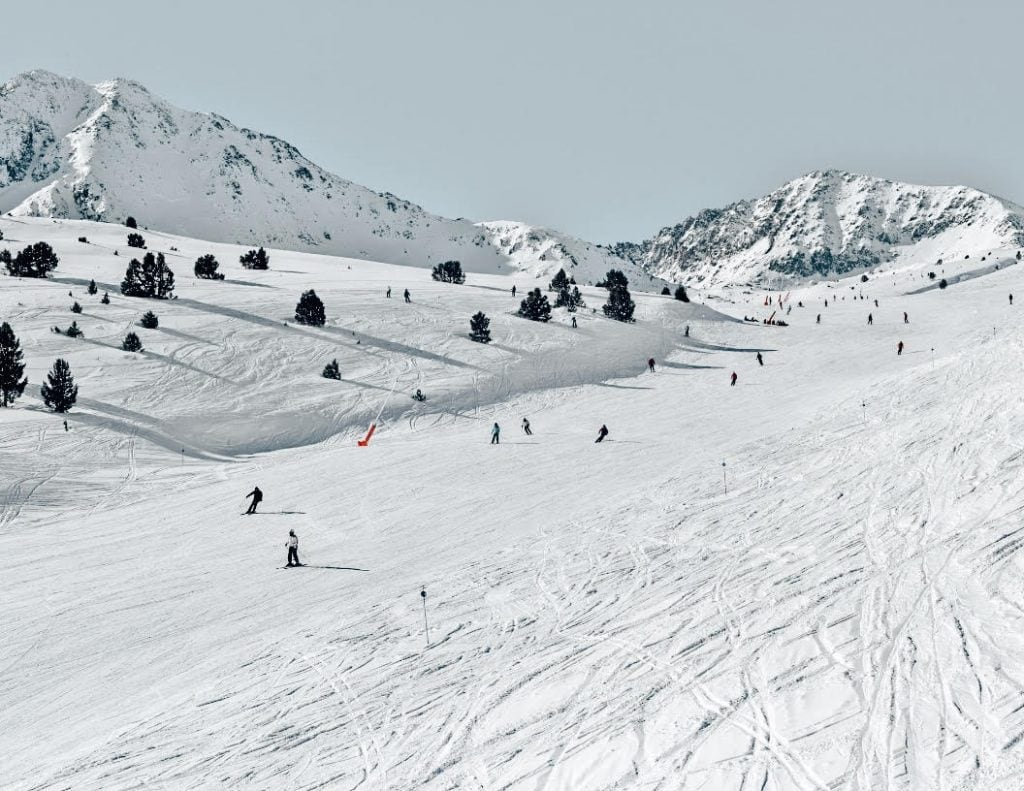 Andorra - Best Winter Destinations in Europe for winter activities