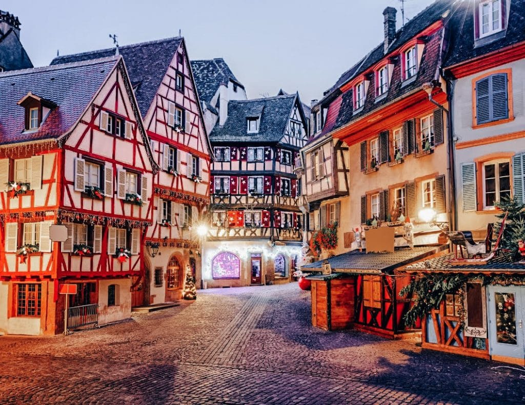 Winter and Christmas in Colmar France
