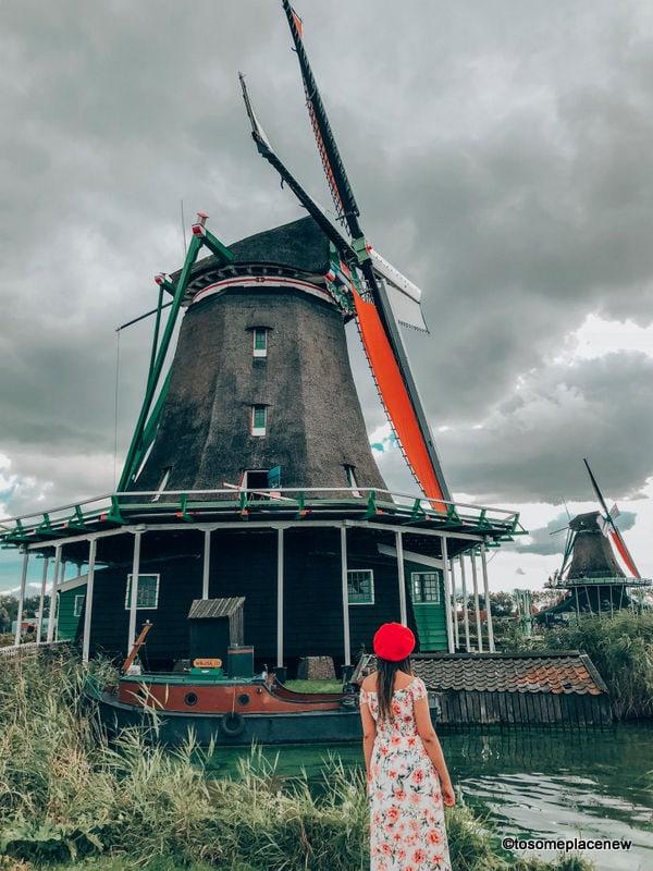 Zaanse Schans Village Amsterdam