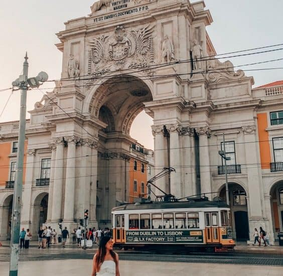 At the Commerce Square Lisbon 2 day itinerary guide