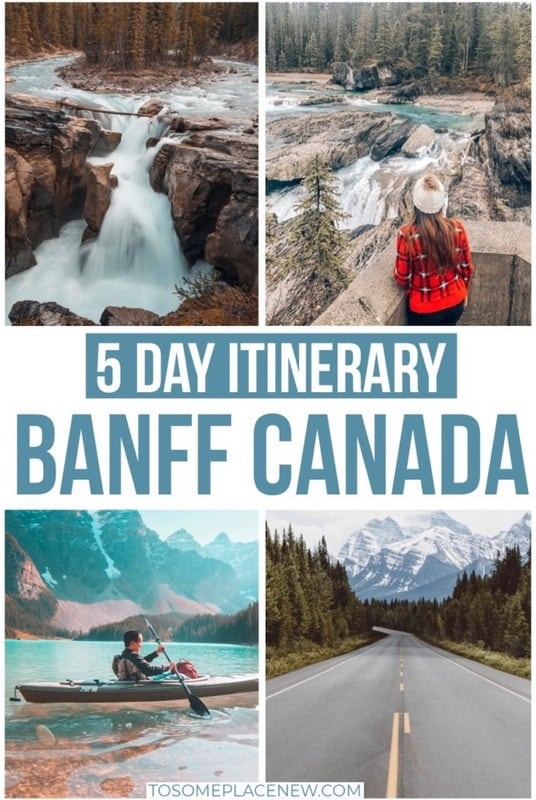 Banff Itinerary 5 days to steal for your trip