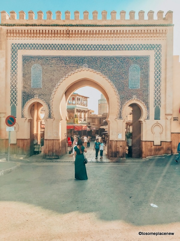 Blue Gate in Northern Morocco Itinerary